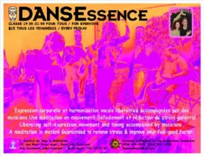Dansessence ; Mouvement Therapy