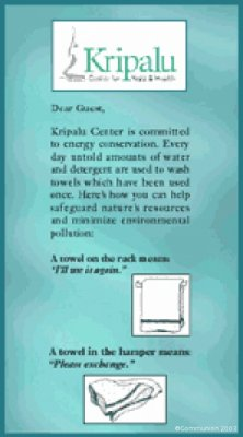 Water Conservation Notice